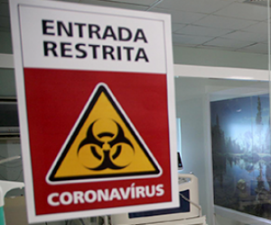 Hospital exclusivo para tratamento do coronavírus